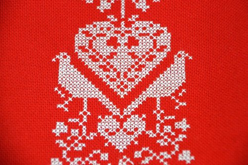 couture  embroidery  cross stitch
