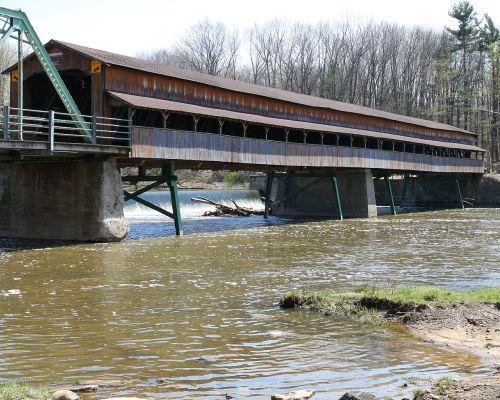 covered bridge ohio river