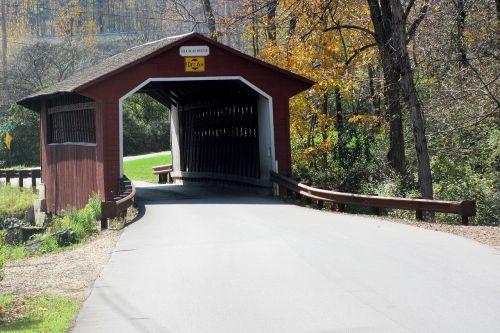 covered bridge amish covered
