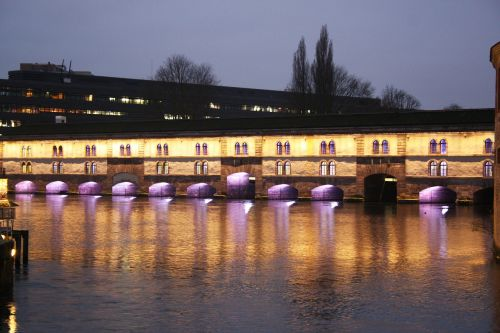 covered bridges alsace strasbourg