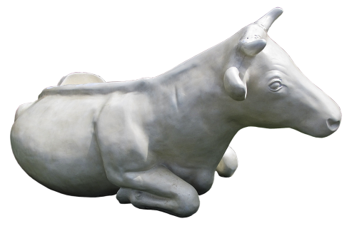 cow cattle sculpture