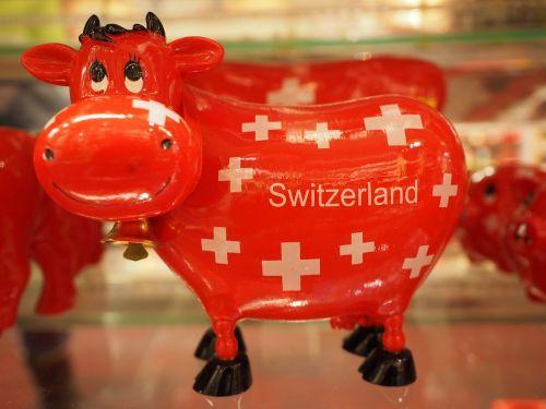 cow savings bank red