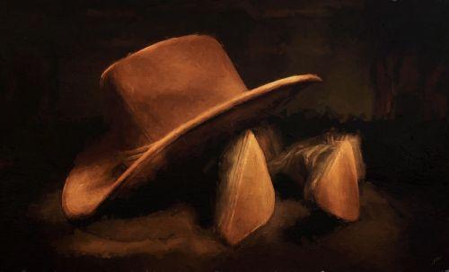 cowboy hat boot