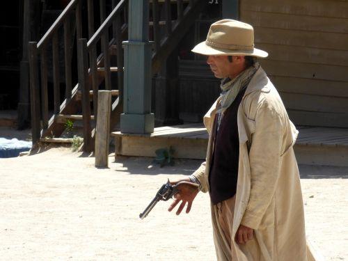 cowboy gun far west