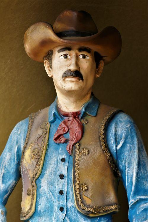 cowboy sculpture art