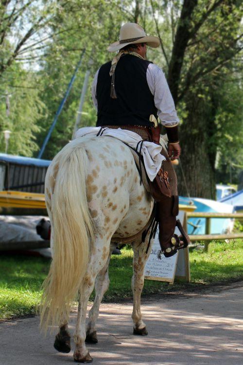 cowboy horse reiter
