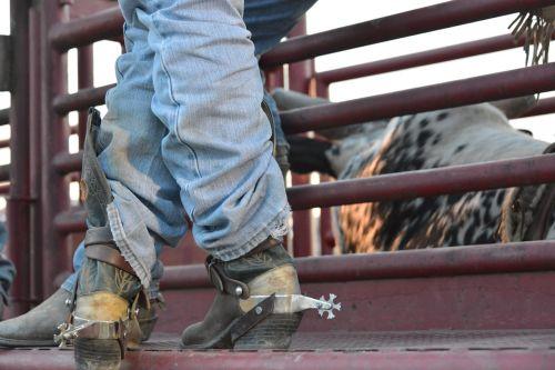 cowboy boots spurs