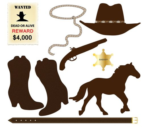 cowboy icons hat