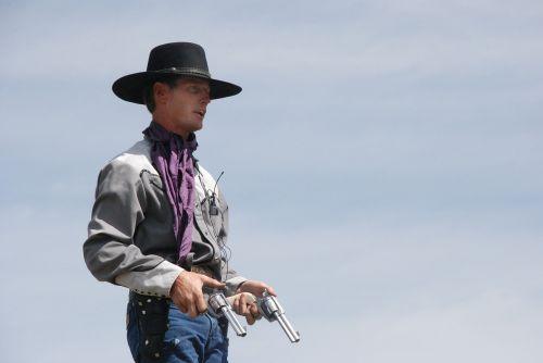 cowboy guns western