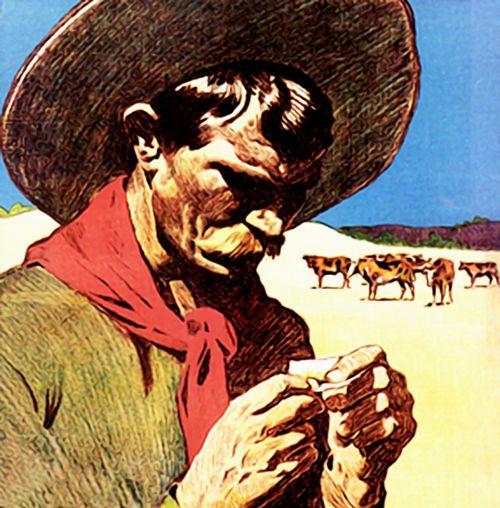 cowboy mexico sombrero