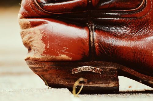 cowboy boots leather 80s