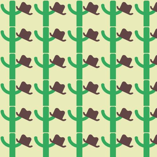 cowboy hat cactus western background