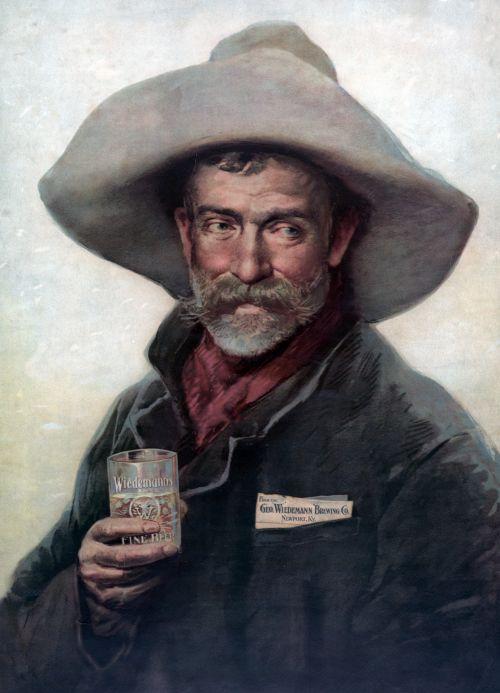 Cowboy Portrait Painting