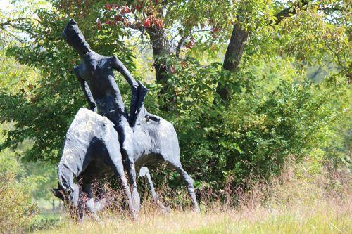 Cowboy Silhouette Art