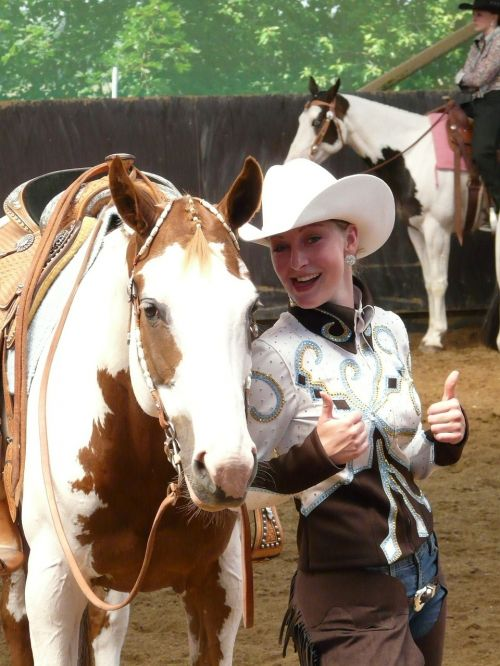 cowgirl horsewoman cool