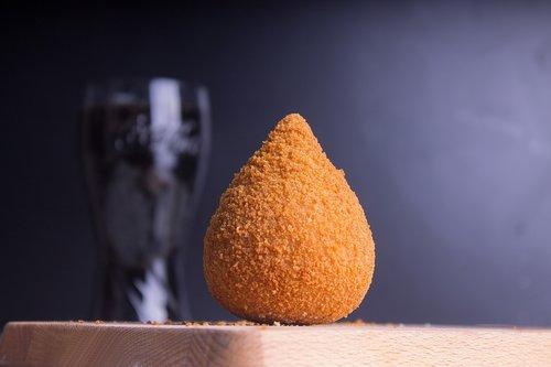 coxinha  salted  brazil