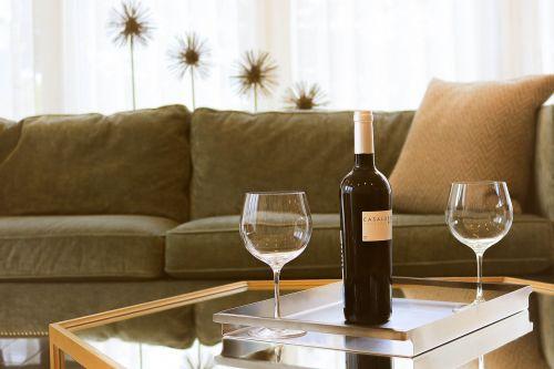 cozy furniture indoors