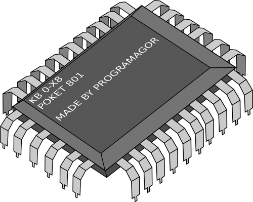 cpu processor electronics
