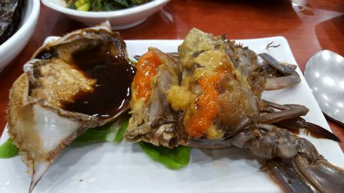 crab soy crab food