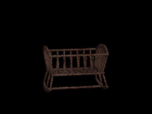 cradle bed cot