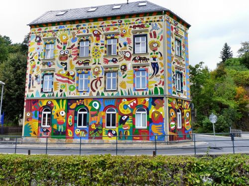 craffiti house fischer-art in sebnitz art