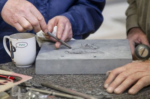 craft stone carving