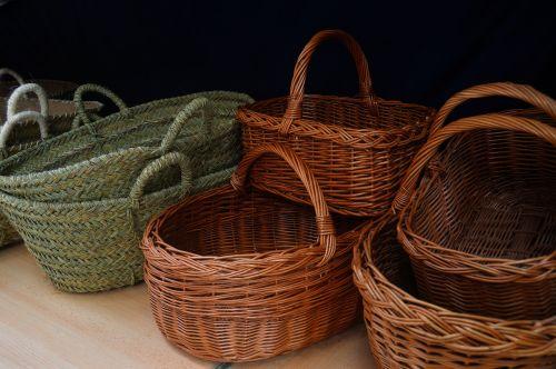 crafts baskets esparto