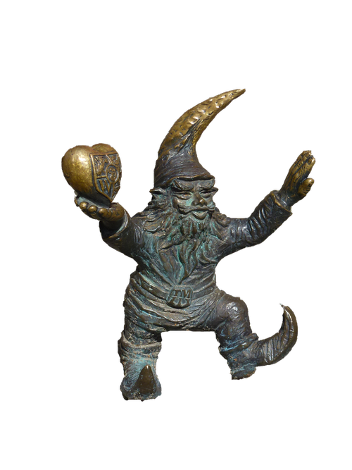 crafts  poland  statue bronze