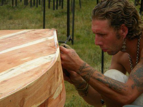 craftsman pirogue canoe