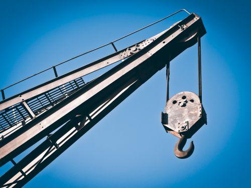 crane raise load crane