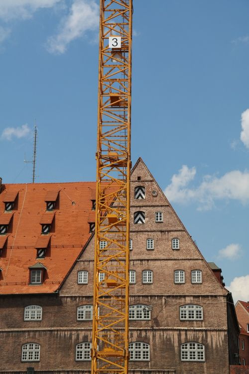 crane construction work home