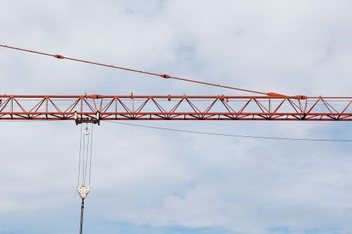 crane baukran scaffold