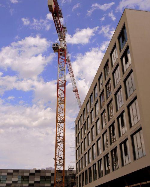 crane construction palazzo