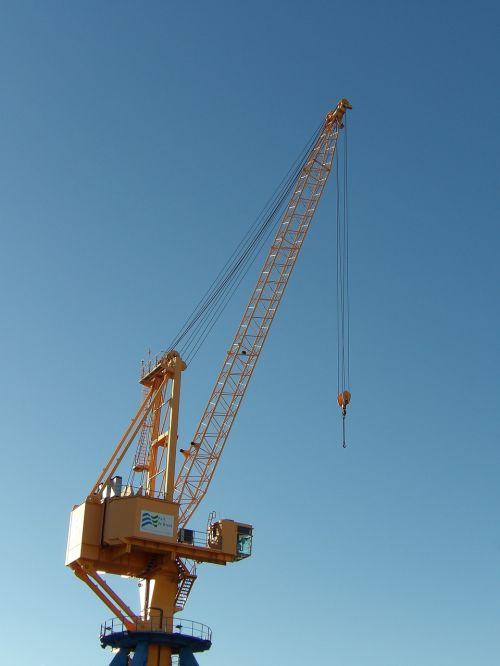 crane port industrial