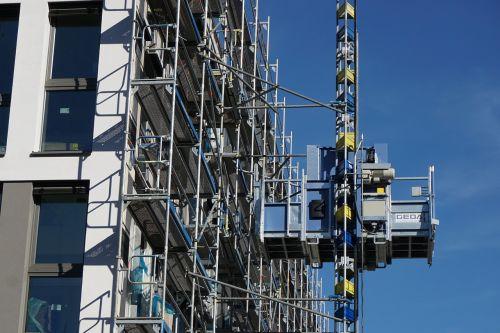 crane site construction