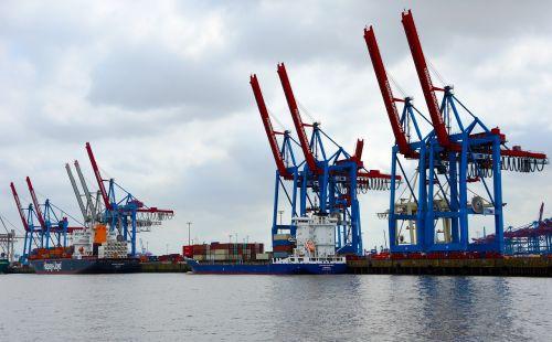 crane cranes port