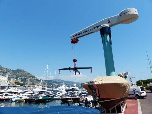 crane port loading