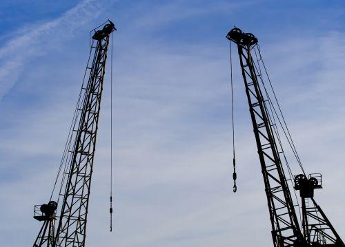 crane derrick two