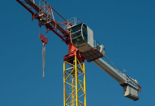 crane site building