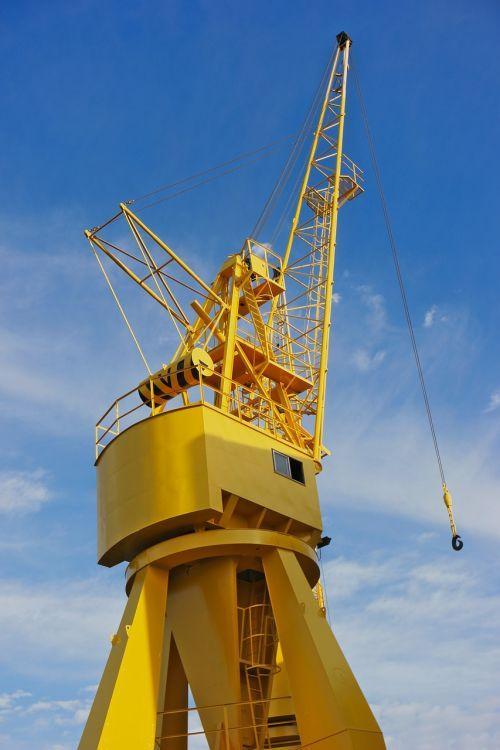 crane port maritime
