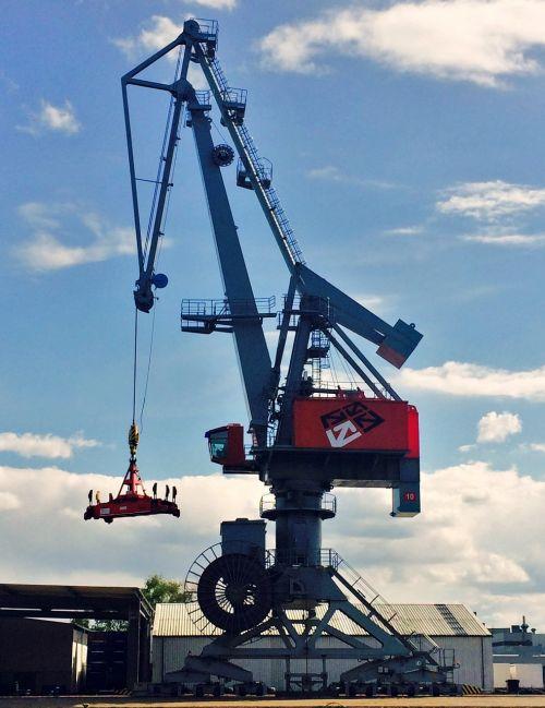 crane industry harbour crane