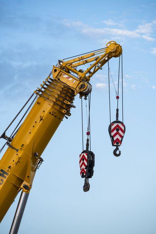 crane autokran raise