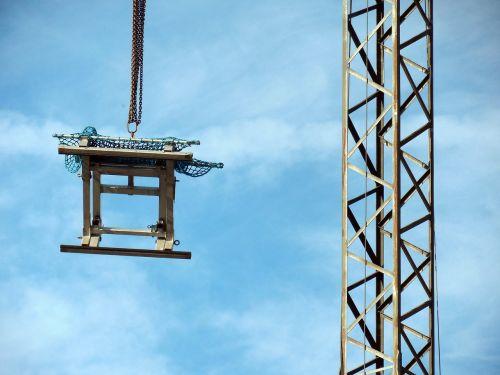 crane chain load crane