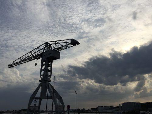 crane wharf nantes