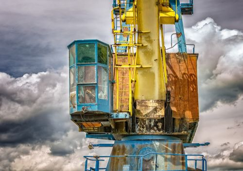 crane port lost place