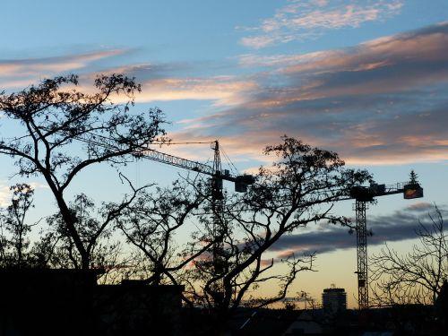 crane site build