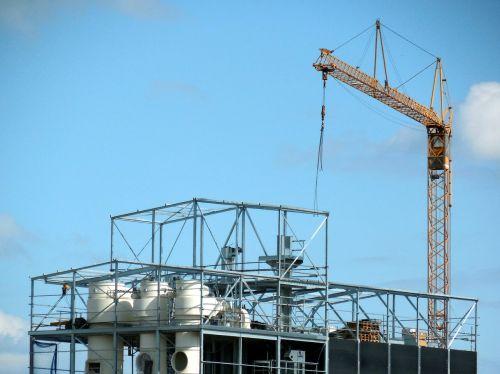 crane scaffold construction