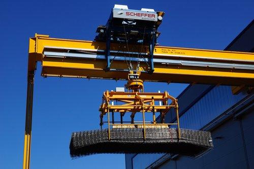 crane  magnetic system  scheffer