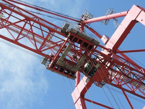 crane  portico  port