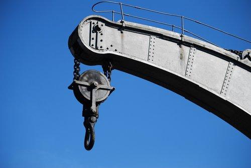crane  heavy duty  bristol docks